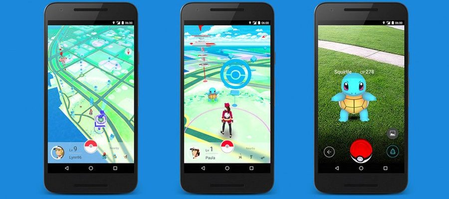 Как ходить в игре Pokemon go?