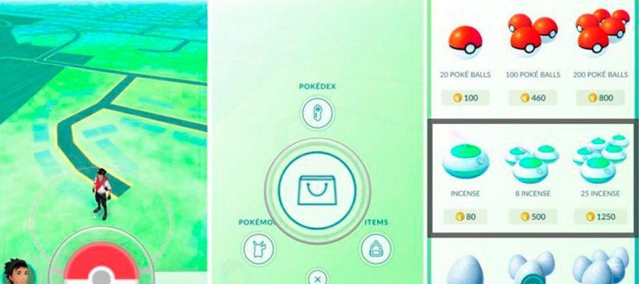 Приманки и благовония в Pokemon go