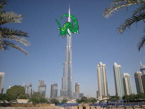 Дубаи, Бурдж – Халифа Pokemon Go