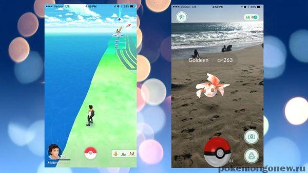 Pokemon go разряд аккумулятора