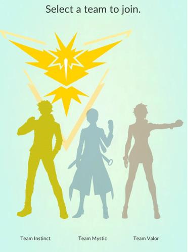 КомандаPokemon GoИнстинкт (желтые, Instinct)