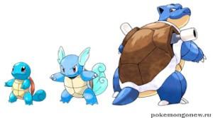 Эволюция покемона в Pokemon Go?