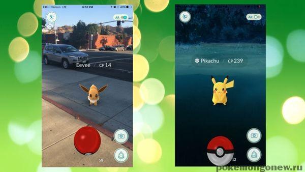 Разряд аккумулятора в Pokemon go