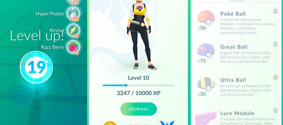 Награды за уровни, рейтинг и калькулятор в Pokemon Go