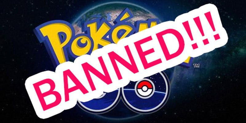 Забанили в Покемон Го, за что могут забанить в Pokemon Go, отмена?