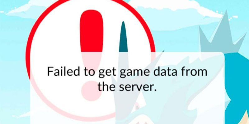 "Ошибка, проблема в Pokemon Go: ""Failed to get game data from the server"""