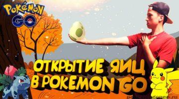 Открытие девяти яиц по 10 км в Pokemon Go  Открытие девяти яиц по 10 км в Pokemon Go