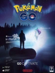 Реклама Pokemon Go
