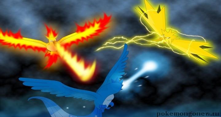 Легендарные покемоны уже появились в Pokemon Go