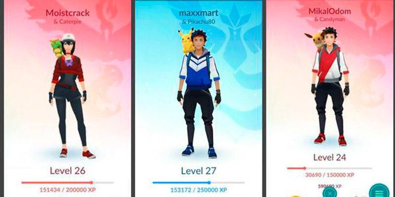 Eevee, Weedle и Caterpie залезают на плечо тренера в Pokemon Go