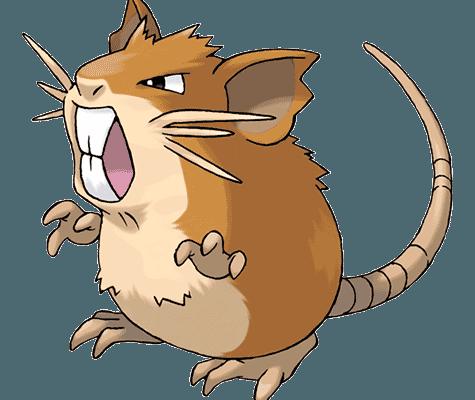 Покемон Рэтикейт (Raticate) в Pokemon Go / Покемон Го