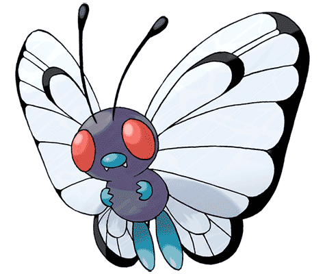 Покемон Батерфри (Butterfree) в Pokemon Go / Покемон Го