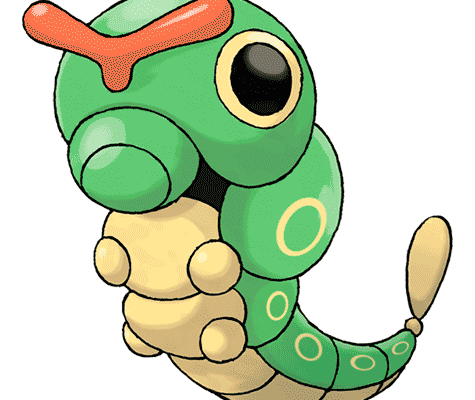 Катерпи (Caterpie) в Pokemon Go / Покемон Го