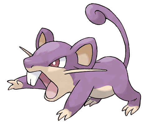 Покемон Раттата (Rattata) в Pokemon Go / Покемон Го