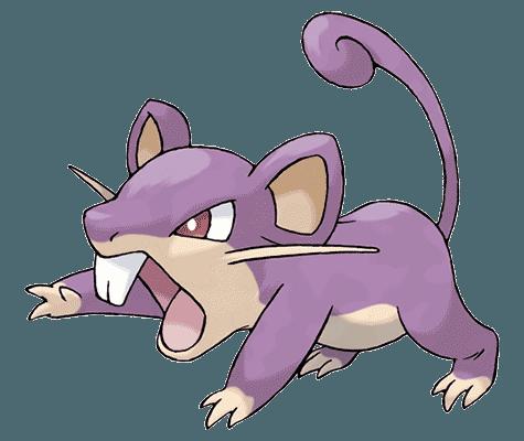 Покемон Раттата (Rattata) в Pokemon Go / Покемон Го