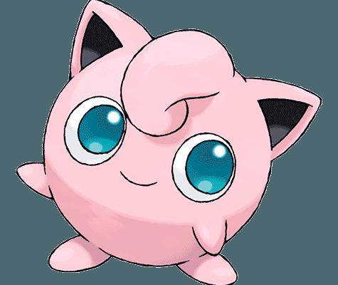 Покемон Джиглипаф (Jigglypuff) в Pokemon Go / Покемон Го
