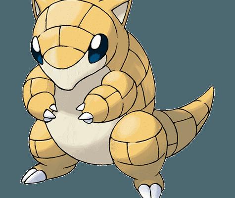 Покемон Сэндшру (Sandshrew) в Pokemon Go / Покемон Го