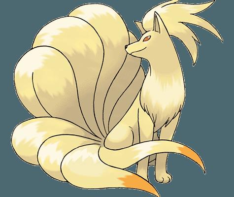 Покемон Найнтейлс (Ninetales) в Pokemon Go / Покемон Го