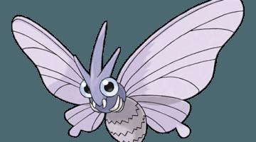 Покемон Веномот (Venomoth) в Покемон Го / Pokemon Go