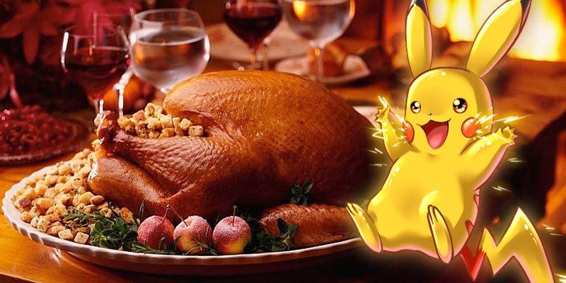 Эвент ко Дню Благодарения в Покемон Го Pokemon Go