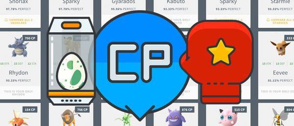 Максимальные CP покемонов второго поколения