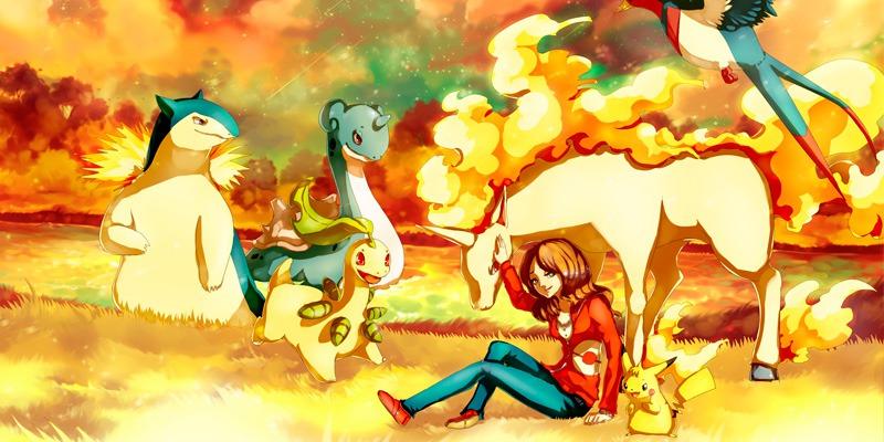 Получи своего покемона в Pokemon Go