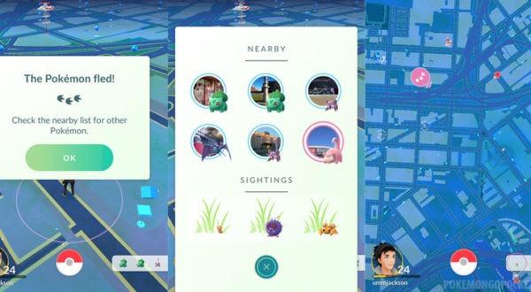 """Как искать покемонов с помощью """"Nearby"""" в Pokemon Go?  Как искать покемонов с помощью """"Nearby"""" в Pokemon Go?"""