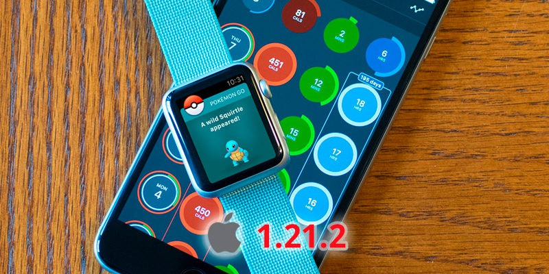 Обновление Покемон ГО 1.21.2 для iOS в Pokemon GO