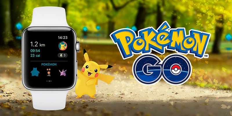 Покемон ГО вышла на Apple Watch Pokemon GO