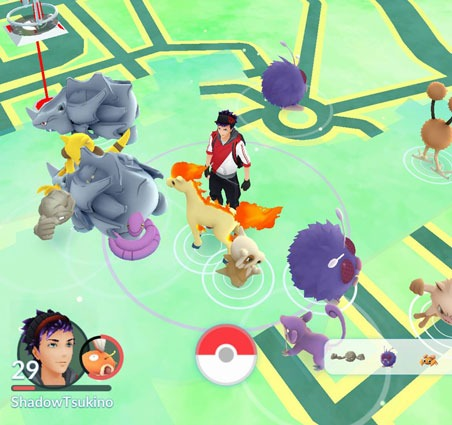 Количество спавнов в Pokemon GO увеличено!