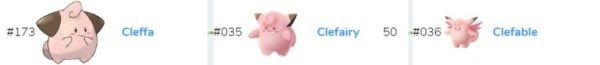 Cleffa – Clefairy
