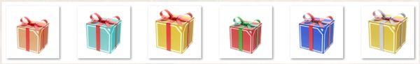 Иконки подарочных коробок