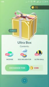 Ultra пак в магазине Покемон ГО