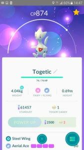 9 миграция гнезд в Pokemon GO, интрига от Niantic и Togetic