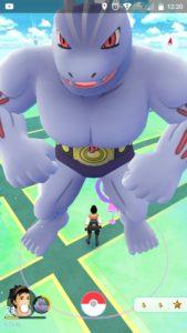 Глюк, Лаг в Покемон ГО / Pokemon GO превращает покемонов в гигантов