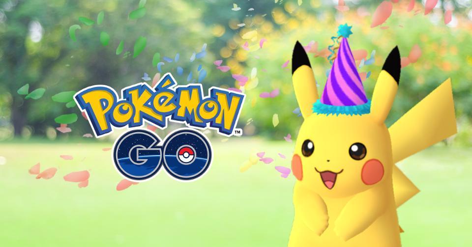 Покемон GO празднует День рождения дебютом специальной версии