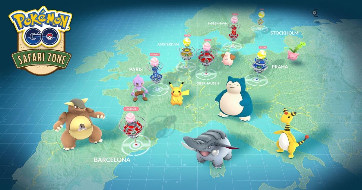 Обновления событий в Safari в Pokémon GO, новые даты и многое другое